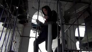 Колокольный звон. Полесский звон. Звонарь Михайлов Виталий (2017 г., Данилов монастырь, Москва)