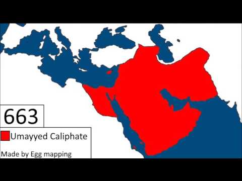 The Rise of Umayyid Caliphate | Islamic Empire at its peak |