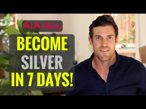 AIA VITALITY REWARDS - HOW TO BECOME SILVER IN 7 DAYS!!! (2018)