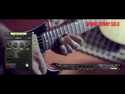 Efektor RV3604 Reverb: Brit Spring Sunny Solo