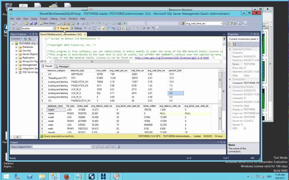 SQL Server 2014 tuning study with HammerDB - Flashsoft ...