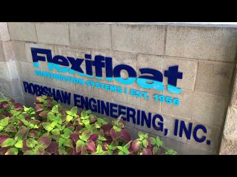 Flexifloat Construction Systems By Robishaw Engineering, Inc.