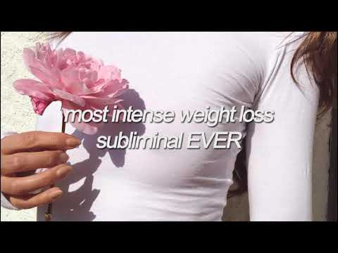 i've never made a subliminal THIS powerful – most intense weight loss subliminal EVER.