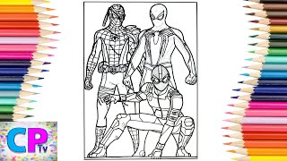 Spiderman Coloring Pages/Spide…