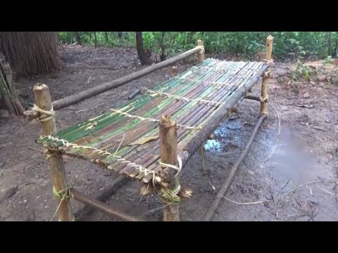 Primitive Life Make Bed And Pillow Primitive Technology