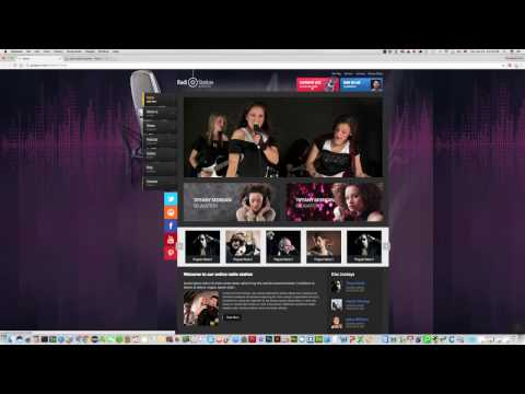 How To Add ListenLive Button In Joomla Radio Template?