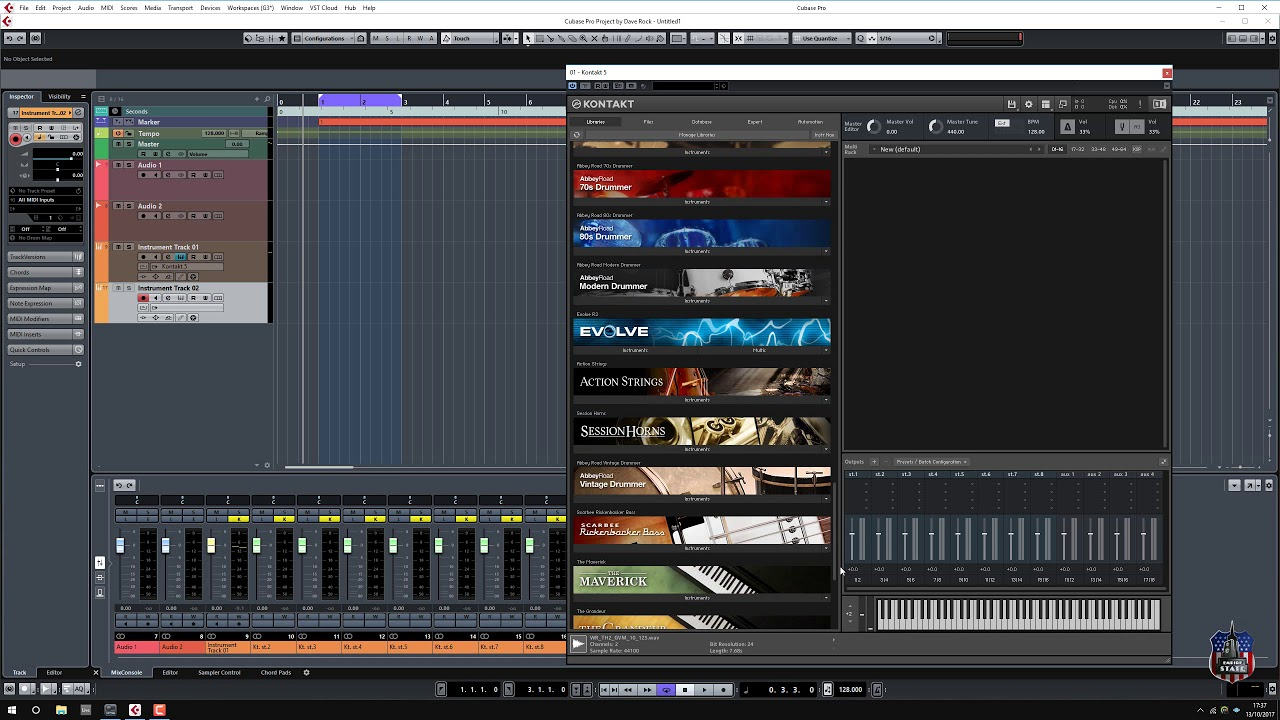 Kontakt creating kontakt instruments how to tutorial youtube.