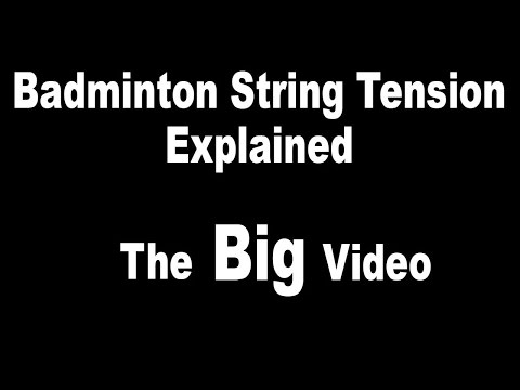 39 Badminton String Tension Explained