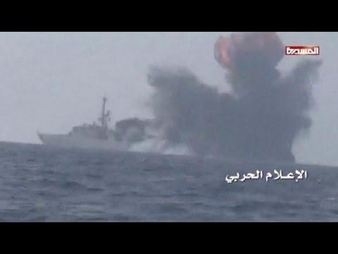 Two killed as Houthis attack Saudi warship off Yemen coast