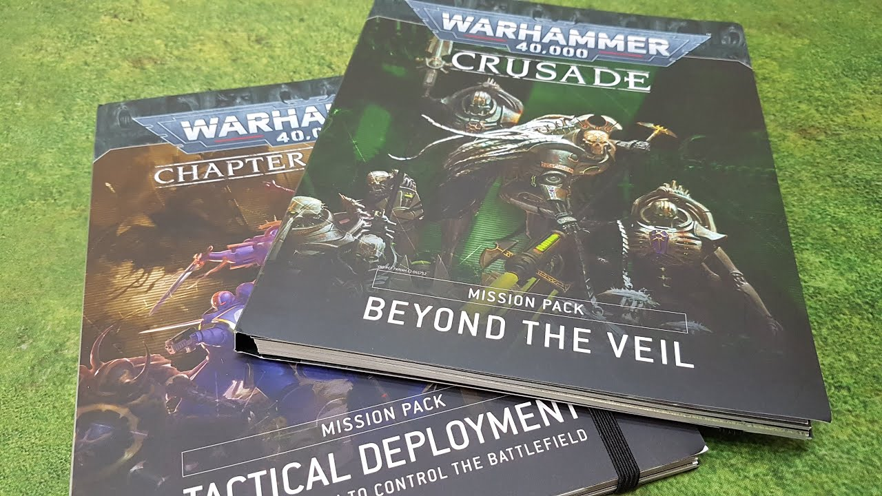 RANT, Beyond the Veil, Warhammer 40k Crusade mission pack review