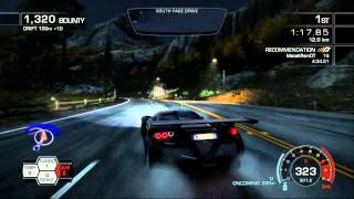 NFS: HP   Hunted 3:07.69   World Record