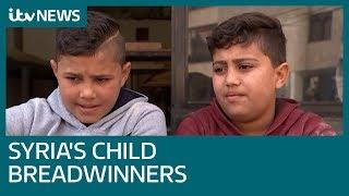 The child breadwinners of Bekaa | ITV News
