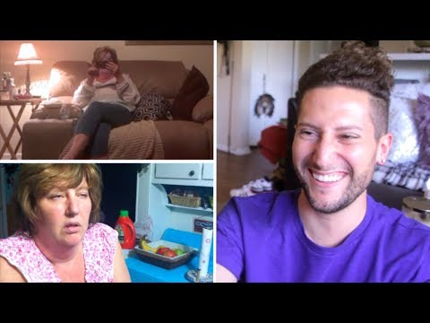 Reacting To My Mom Sleepwalking (with my mom!) // 5 YEARS LATER!