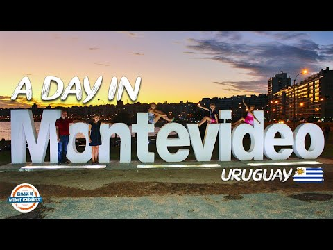 A day in Montevideo Uruguay! | 80+ Countries w/3 kids