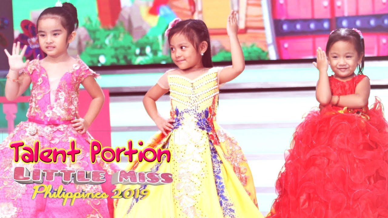 Little Miss Philippines 2019 - Introduction and Talent | July 8, 2019