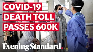 Coronavirus: Global covid-19 death toll passes 600,000