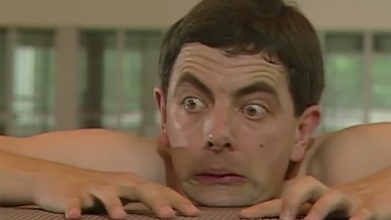 Swimming Pool Trouble Mr Bean Official Youtube