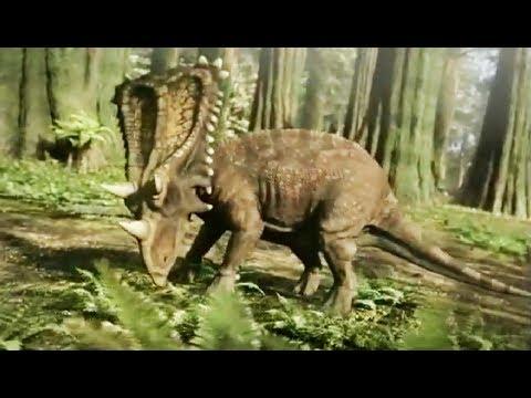 Daspletosaure VS chasmosaure (dinosaures) - ZAPPING SAUVAGE