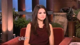Selena gomez sobre justin bieber - ellen degeneres show 17/11/11 (legendado)