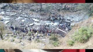 #Bus Accident in J & K Poonch Mandi Loran