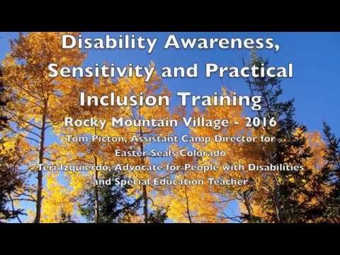 Disability Awareness, Sensitivity and Practical Inclusion Training