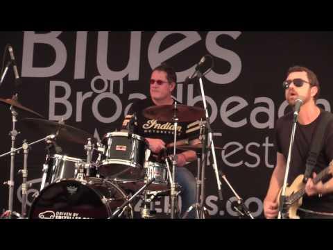 JIMI HOCKING'S BLUES MACHINE @ BROADBEACH BLUES FEST (20-05-2017)