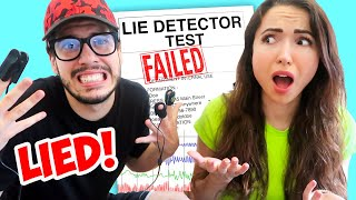 Lie Detector Test on My Boyfriend.. (HE LIED)