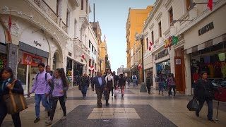 Euronews' Monica Pinna as she stretches out a day in the capital of Peru.