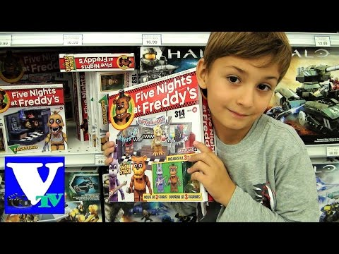 ★ VLOG Магазин игрушек: ФНАФ - ПЯТЬ НОЧЕЙ С ФРЕДДИ. Five Nights At Freddy's Toys shopping