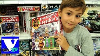 VLOG Магазин игрушек ФНАФ ПЯТЬ НОЧЕЙ С ФРЕДДИ. Five Nights At Freddy s Toys shopping