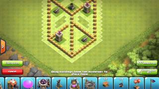 3d base for town hall 5 in clash of clans