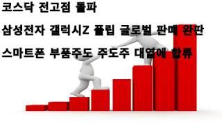 삼성전자 갤럭시Z 플립 글로벌 판매 완판, 스마트폰 부…