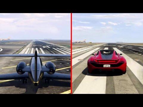 Luxor Jet vs Progen T20 Which is Faster! GTA 5