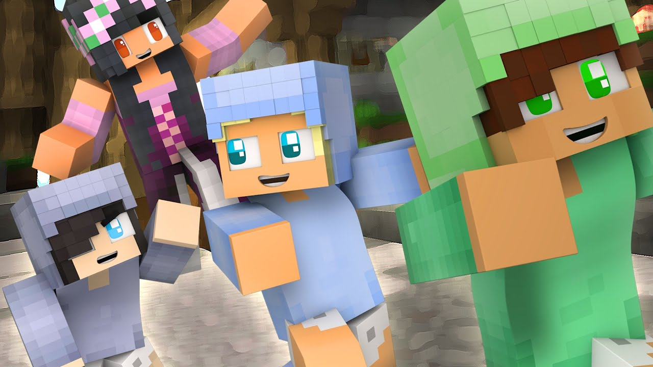 Minecraft Skin Wallpaper Girl Baby Brothers Minecraft Diaries Hide And Seek Youtube