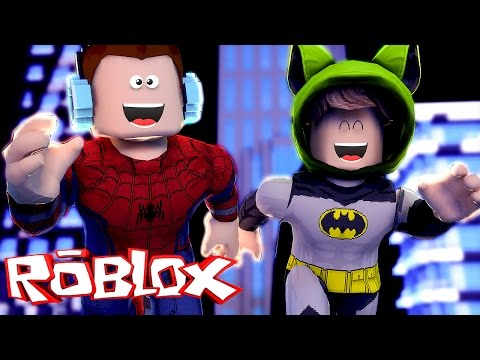 Roblox – HOMEM ARANHA VS BATMAN !! (Roblox Super Hero Tycoon)