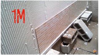 تغليف الحائط بسراميك حجري رائع  zalij almaghrib p18