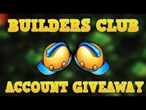 Roblox Free Account With BC