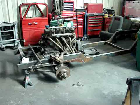1953 Ford Truck Custom Frame build - YouTube