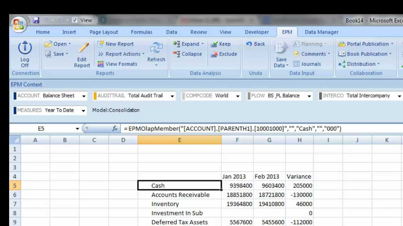 SAP BPC EPM FUNCTIONS DOWNLOAD