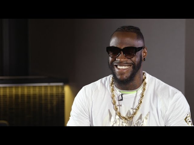 Deontay Wilder Mocks Anthony Joshua Leading Up to Dominic Breazeale Fight