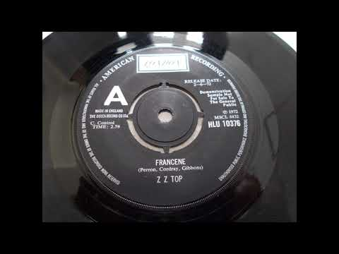ZZ Top -   Francene      --                 Rare 1st Release - Glam Rock