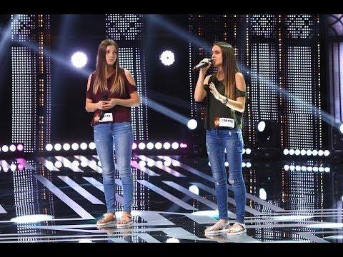 """""""Hallelujah"""" - Jeff Buckley. Vezi interpretarea Denisei și a Rebecăi Bana la X Factor"""