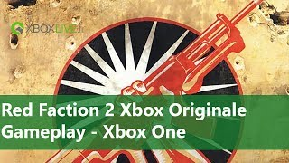 Xbox Originale : Red Faction 2 - Gameplay sur Xbox One
