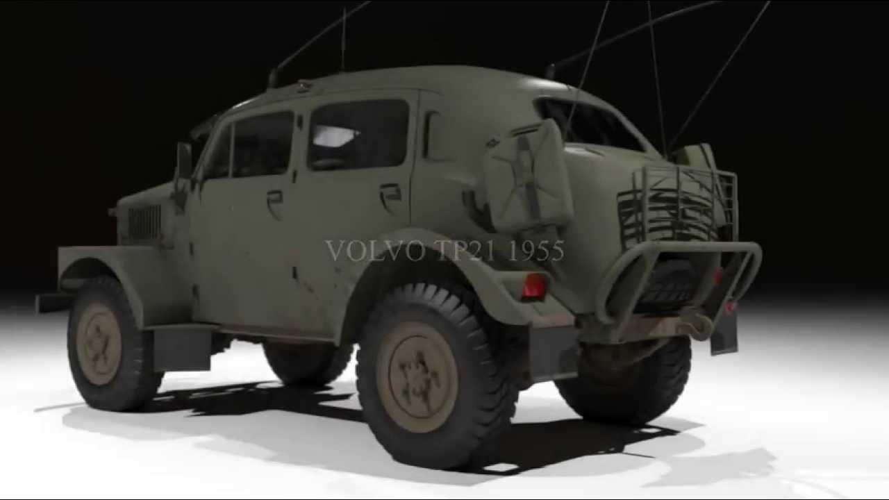 Volvo Sugga TP21 1955 - YouTube