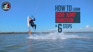 6 Steps How To Learn Surfboard Jump Transition (in Kiteboarding)