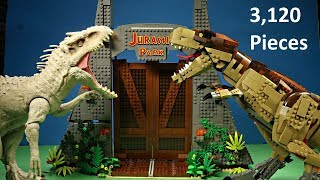 NEW Lego Jurassic Park T.rex Rampage 75936 Stop-Motion Animated Speed Build 3,120 Pieces WD Toys
