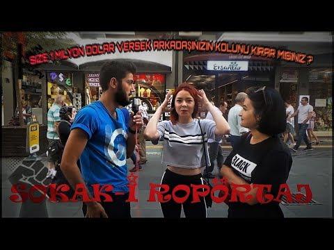 Sokak-i Röportaj ( 1 MİLYON DOLARA $ ARKADAŞININ KOLUNU KIRARMIYDIN ? ) - SAMSUN