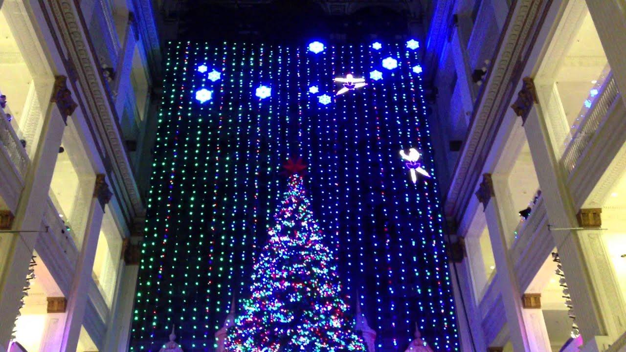 macys christmas light show 2013 philadelphia