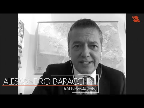 Being a TV journalist during the outbreak: Alessandro Baracchini, Rai News24