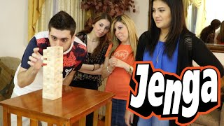JENGA [WITH SISTERS AND GIRLFRIEND]